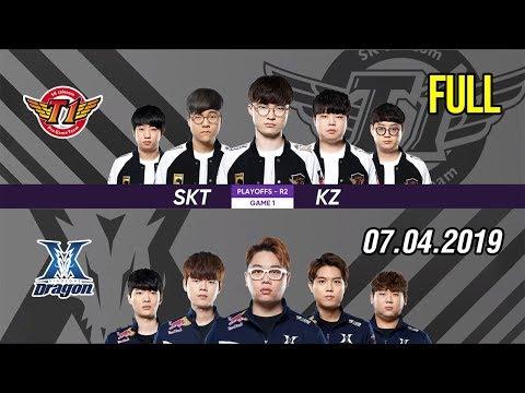 Bình luận tiếng Việt LCK 2019 Playoffs   SKT vs KZ FULL Highlights   Dream Team thực sự chính là đây