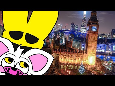 Minecraft Fnaf Goes To London - A Funtime Foxy And Springtrap Adventure (Minecraft Roleplay)