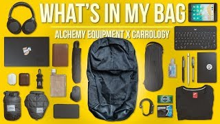 What's In My EDC/Office Bag Ep. 11 - Alchemy Equipment X Carryology AEL222 Review