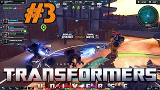 Transformers Universe BETA Gameplay Ep.3 | Meteor Storm Multiplayer on Horizon Plaza [PC HD]