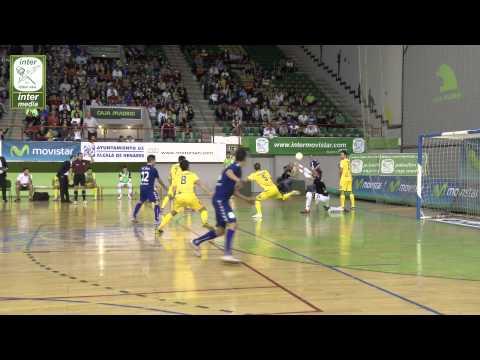 Inter Movistar 6-4 Azkar Lugo. A pie de pista. Liga 2014/15
