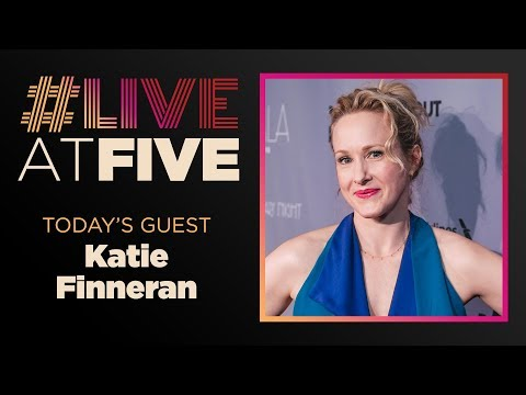 Broadway.com LiveatFive with Katie Finneran of EDWARD ALBEE'S AT HOME AT THE ZOO