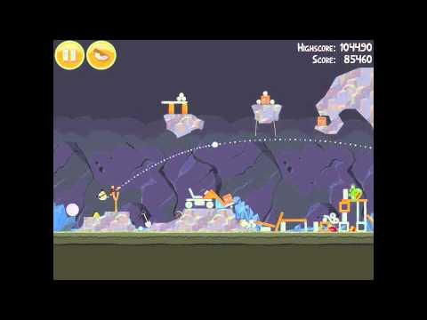Angry Birds 16-9 Mine & Dine 3 Star Walkthrough