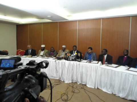 religious leaders condemning Mpeketoni attack in a press release