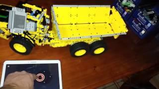 Lego Technic 42030 Volvo DumpTruck Mod with SBrick