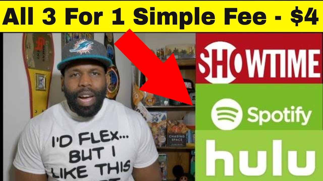 Streaming Unlimited - Get Showtime, Hulu And Spotify Music Streams Unlimited
