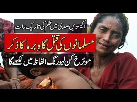 Burma Muslim Killing 2017