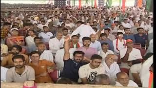 PM Shri Narendra Modi addresses a public meeting in Hisar, Haryana