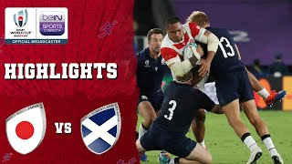 Japan 28-21 Scotland | Rugby World Cup 2019 Match Highlights