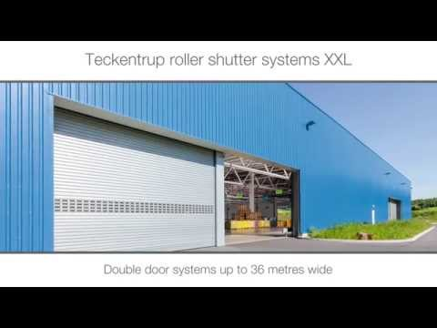 Extra Large Industrial Roller Shutter Door