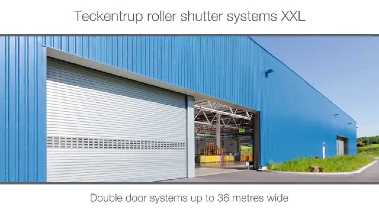 Extra Large Industrial Roller Shutter Door Youtube