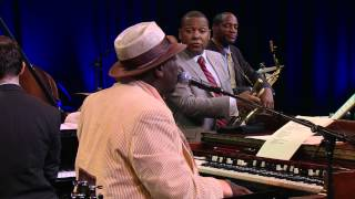 August 4, 2012 Marciac, France Wynton Marsalis (trumpet); Lucky Pet...
