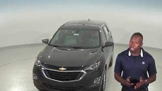183087 - New, 2018, Chevrolet Equinox, LS, Gray, SUV, Test Drive, Review, For Sale -