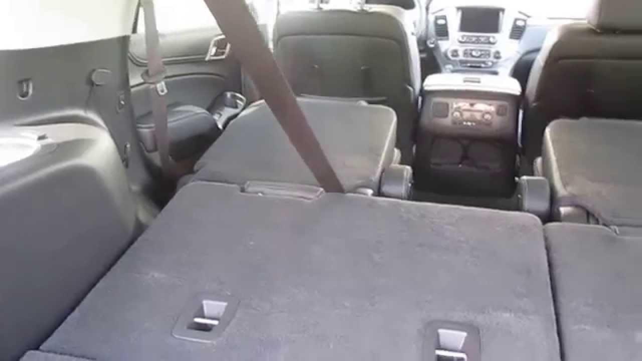 2015 Gmc Yukon Denali Fold Flat Seating Youtube