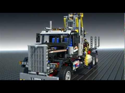 Logging Truck - LEGO Technic - 9397