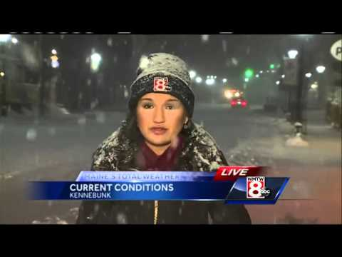 Messy storm makes its way into Maine
