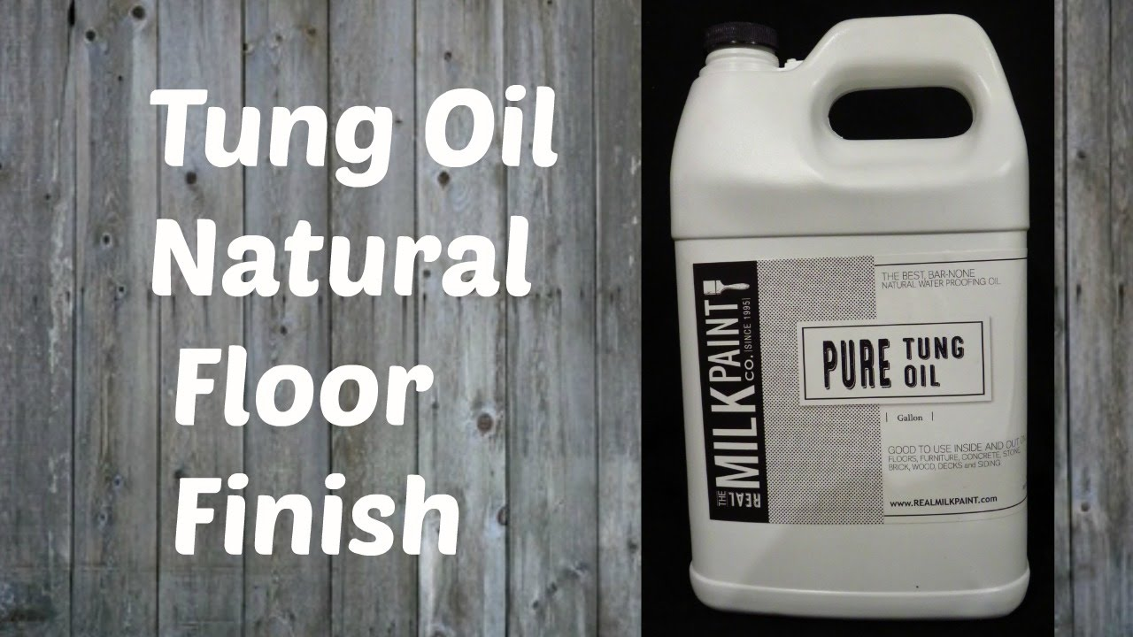 Tung Oil Finishing Refinishing A Wood Floor With