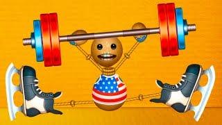 СПОРТ Футбол, Баскетбол и дартс против АНТИСТРЕССА #46 Эксперимент с игрушкой Бадди и штангой