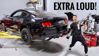 homepage tile video photo for Mustang GT Catback Exhaust Install!