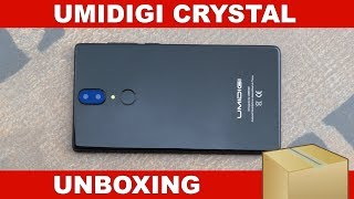 umiDigi Crystal Unboxing & First Impressions