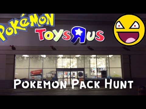 Pokemon Card Pack Hunt #6 - Pokemon Cards - ToysRus And Walmart