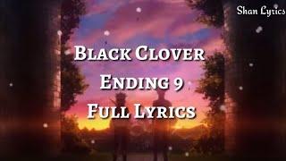 Download Mp3 Black Clover Ending 9 Full『jinsei Wa Senjou Da』by Kalen Anzai Lyrics