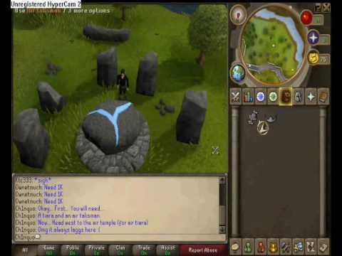 How to make an Air Tiara on Runescape
