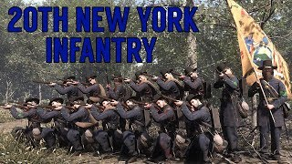 """Fighting Regiments of War of Rights - 20th New York """"Turner Rifles"""""""