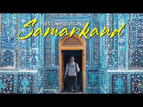 First Impression of Samarkand in Uzbekistan