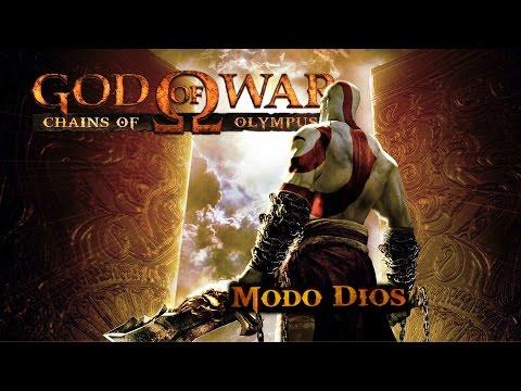 God of War Chains of Olympus - Modo Dios - 100% Playthrough [1080p 60fps]