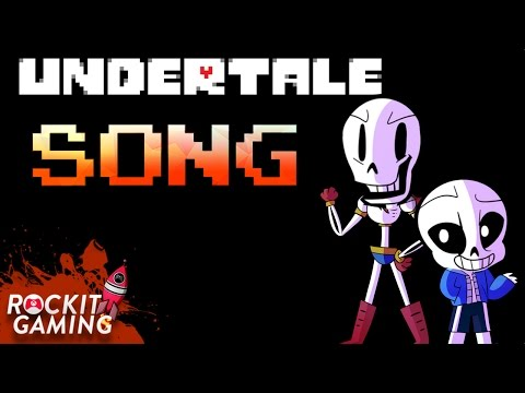UNDERTALE RAP SONG Tell Me Another | Typography Animation | Rockit Gaming