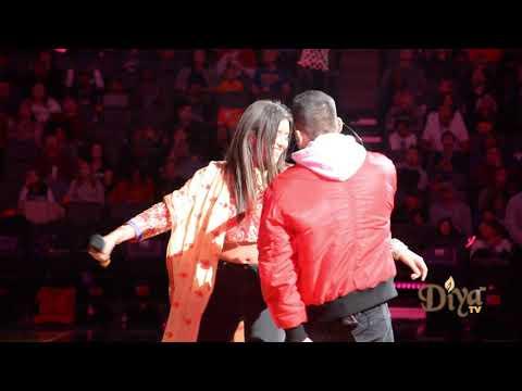 Anjali Ranadive   Mickey Singh   Bollywood Night Performance   Sacramento Kings