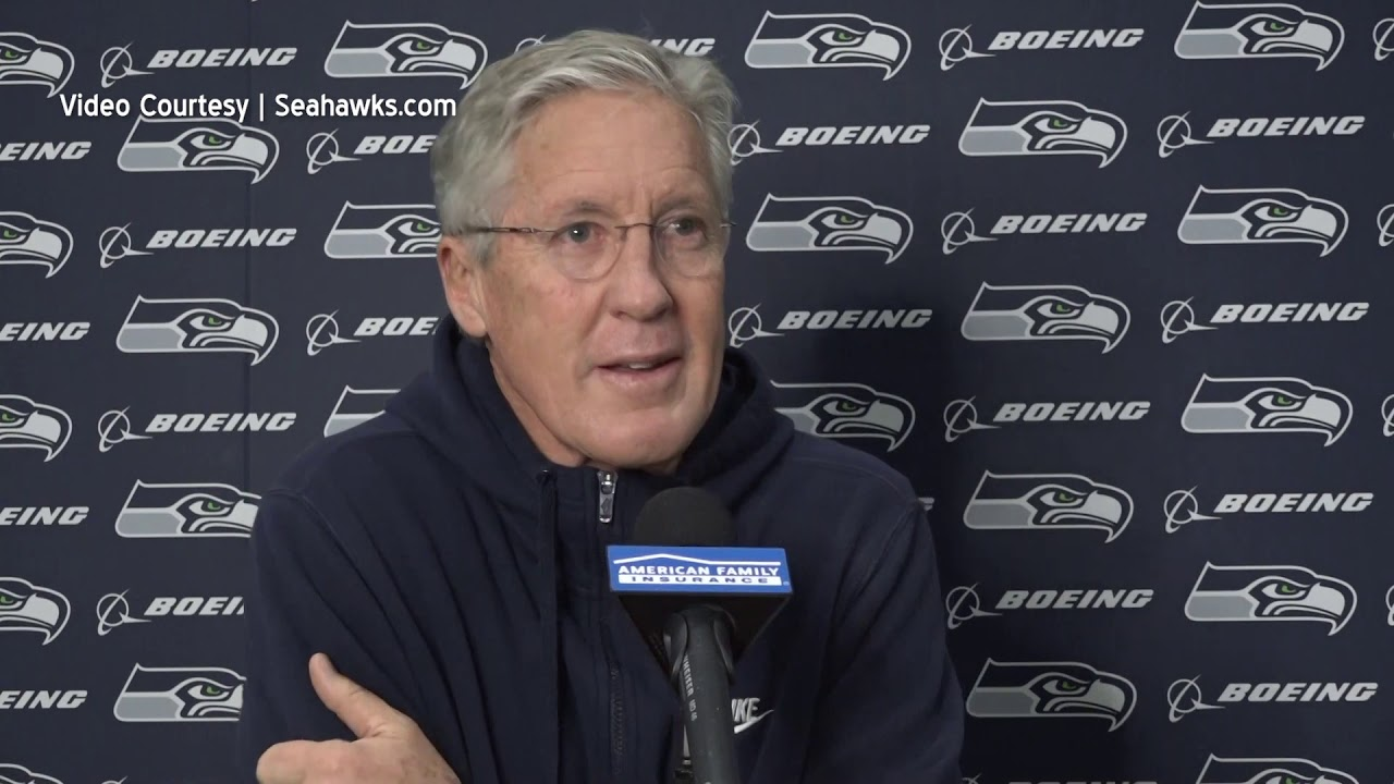 Pete Carroll on Defensive Shift 2020-12-29