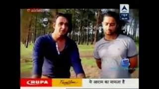 SBS August 3rd, 2014 - Shaheer Sheikh & Saurabh Raaj Jain celebrating Friendship Day