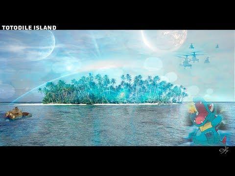 Speed Art | Totodile Island