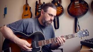 Bb Blues on my '50s Gibson ES175