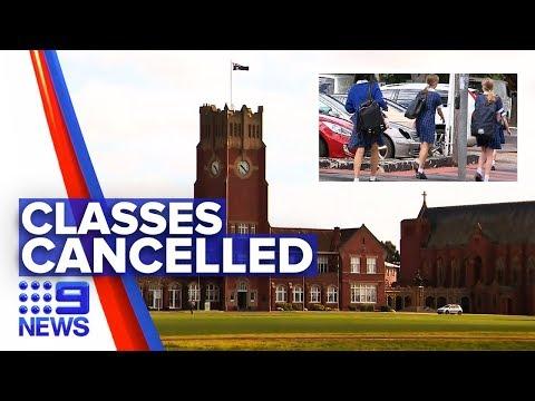 Coronavirus: Victorian Independent School To Close Doors   Nine News Australia