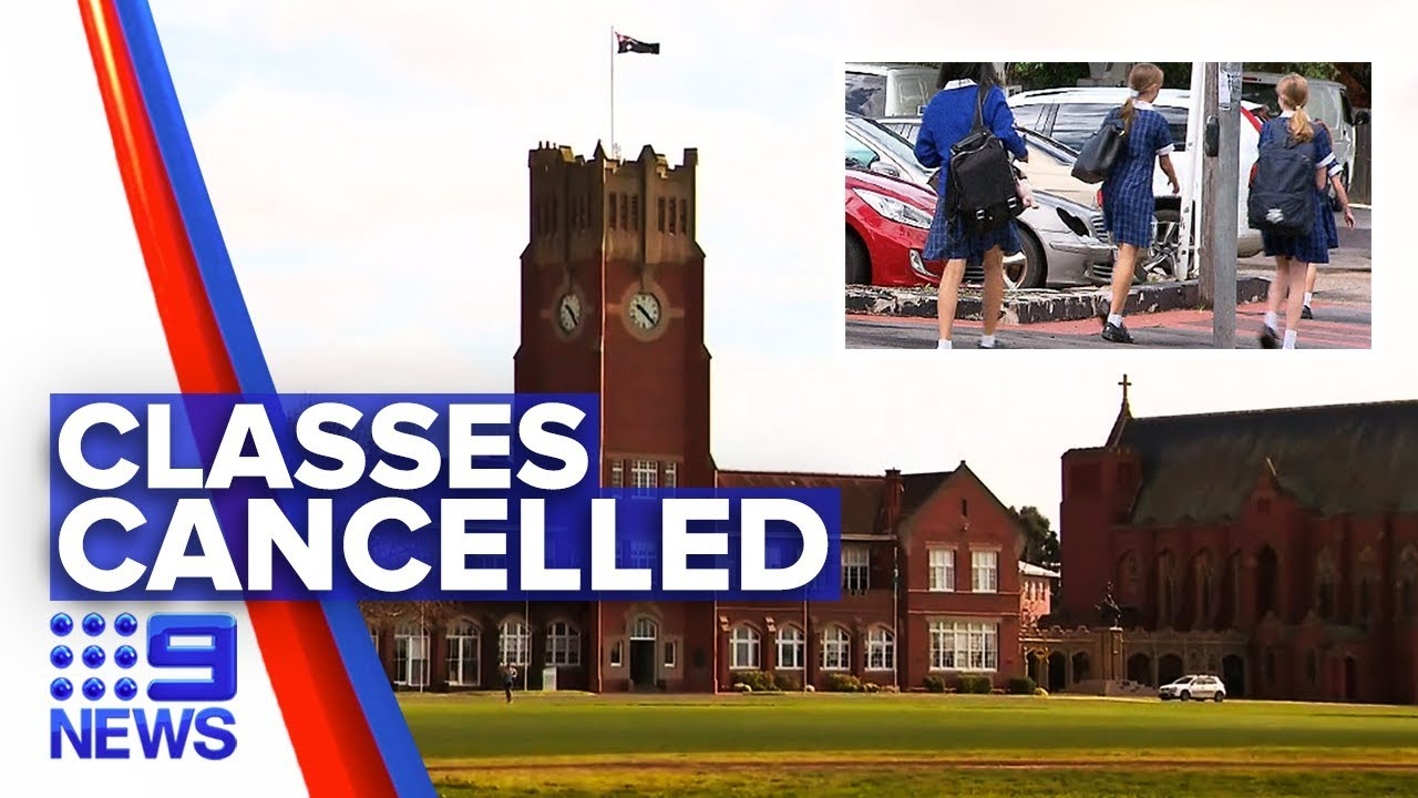Coronavirus: Victorian independent school to close doors | Nine News Australia