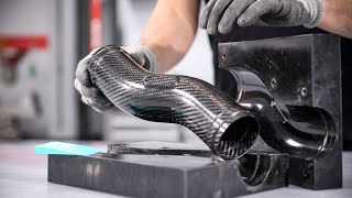 Making Complex Carbon Fibre Tubes Using a Split-Mould
