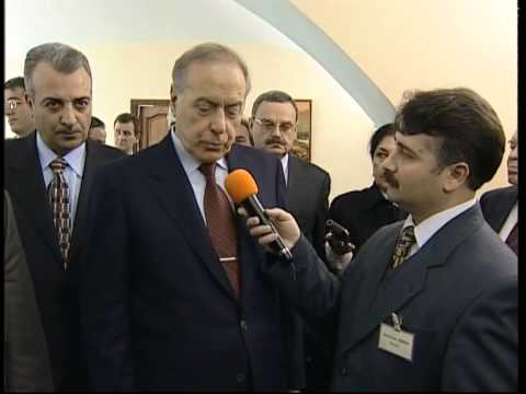 AZERBAYCAN DEVLET BAŞKANI HAYDAR ALİYEV, SEYFULLAH TÜRKSOY'A KONUŞTU
