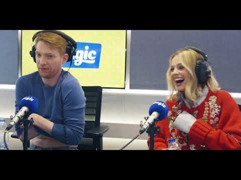 We discover Domhnall Gleeson&39;s hidden talent  Magic Radio