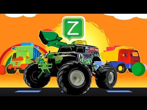 Leer het alfabet / ABC met auto's - Nederlands / Dutch