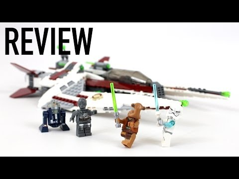 LEGO Star Wars Jedi Scout Fighter Review - Set 75051