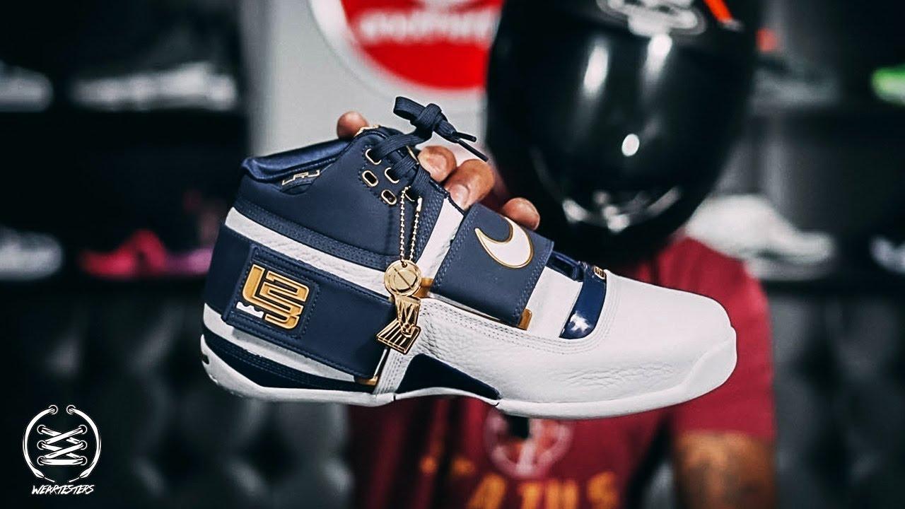 san francisco 7a614 86b1e Nike LeBron Zoom Soldier 1
