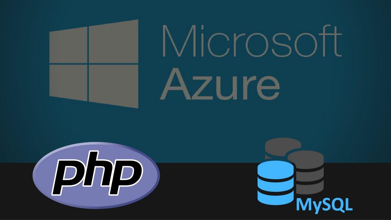 Deploying A PHP/MYSQL CodeIgniter Application With Microsoft Azure