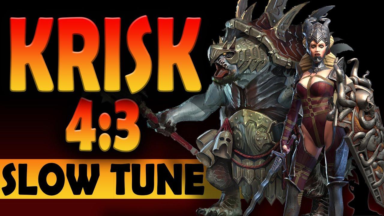 Download Krisk 43 - Sepulcher Sentinel and Krisk Slow Tune | Raid Shadow Legends