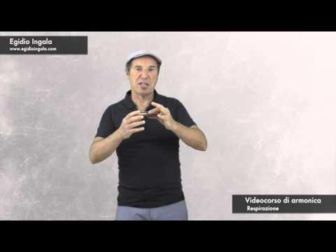 Videocorso di armonica lezione 4: Respirazione (demo)