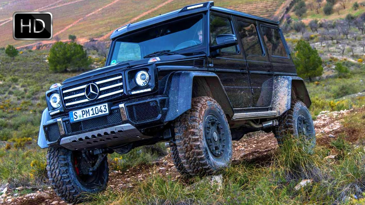 Jeep Mercedes Benz Off Road