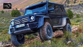 2016 Extreme Mercedes-Benz G500 4x4² SUV OFF ROAD HD