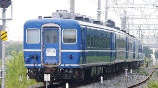 【東武 SL客車 はななす14系 4両、四国12系 2両の状況】SL大樹 客車 JR北海道14系 4両、JR四国12系 2両 留置位置変更